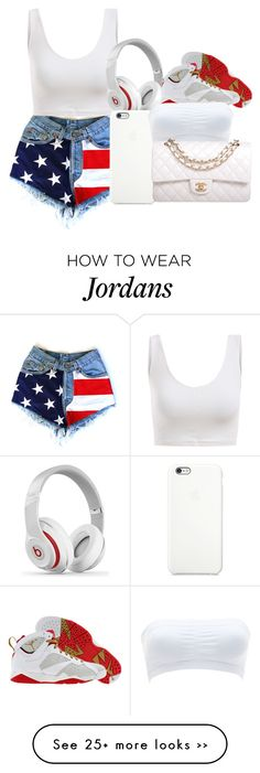 """""""Happy 4th."""" by brooklyn-taylor-ford on Polyvore"""