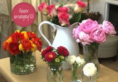 how to flower arranging