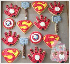 #superheroes #cookies