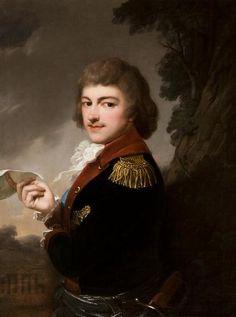 Portret Michała Kleofasa Ogińskiego mal.J.Grassi