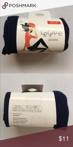 Legale Legging Navy Blue s/m Legale Footless Legging Navy Blue s/m. Perfect to give your dresses more longevity throughout the year by adding tights and still be able to rock those peep toes! Questions, just ask 😊 Legale Accessories Hosiery & Socks