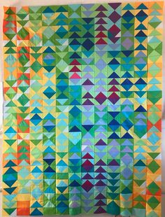 This batik quilt is honestly a remarkable style principle. Amische Quilts, Map Quilt, Batik Quilts, Patch Quilt, Quilt Top, Quilt Blocks, Nancy Zieman, Tim Holtz, Flying Geese Quilt