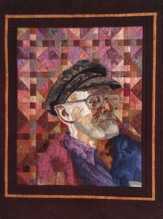 Oupa by Mari Strydom Quilts, Cape Town, Artwork, Artist, Painting, Wall, Art Work, Comforters, Work Of Art