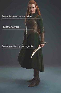Tauriel costume fabrics. To help with my costume ideas