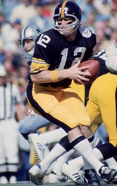 Image detail for -Black and Gold: NFL Top 100 Players # 50 - Terry Bradshaw