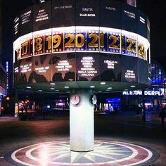 World time clock, Berlin Alexanderplatz