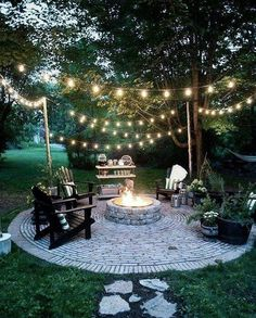 Check it out nice Brooklyn Limestone: Country Cottage DIY Circular Firepit Patio… by www.danazhome-dec… The post nice Brooklyn Limestone: Country Cottage DIY Circular Firepit Patio… by www. Fire Pit Area, Fire Pit Patio, Back Yard Fire Pit, Garden Fire Pit, Fire Pit Decor, Outdoor Fire Pits, Outdoor Stone, Diy Fire Pit, Fire Pit Seating