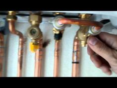 How to top up a Viessmann Vitodens 100WB1C combi - YouTube
