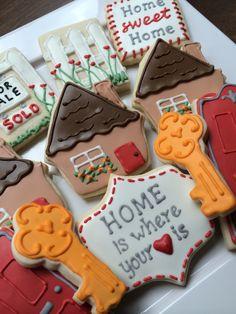 open house cookies or realtor gift cookies