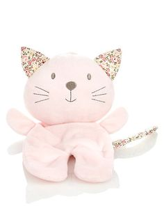 Kitten Blankie Soft Toy | M&S