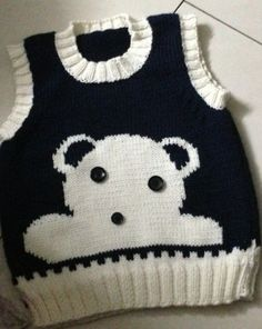 modèles de suveter pour orgue enfant et bébé - Hobby Ideas Creative Handcrafted . Baby Boy Knitting Patterns, Baby Sweater Knitting Pattern, Knit Baby Sweaters, Sweater Knitting Patterns, Knitting For Kids, Crochet For Kids, Baby Patterns, Knit Patterns, Cardigan Bebe