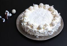 White Winter Coconut Dream: Schneeweiße Kokos-Torte