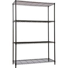 Wel-Bilt Wire Shelving System - 4-Shelf, 48in.W x 18in.D x 72in.H, Black, Model# NT-72-1848BK by Wel-Bilt. $74.99. Wel-Bilt steel wire shelf rack provides an ideal solution for commercial or industrial storage. Wire shelf design allows air circulation and reduces dust buildup. Shelves are easily adjustable for changing needs. Not related to WELBILT products of Enodis companies. Shelf Width (in.): 48, Mobile Kit Item Number: 21099, Height (in.): 72, Shelf Capacity (lbs.): 30...