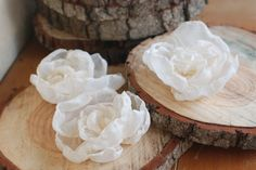 Budget wedding idea. Diy fabric peonies. inexpensive centerpieces.