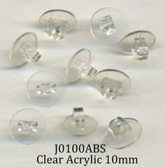 Button Shanks, and available Clay Supplies, Hobby Supplies, Clear Acrylic, Light Bulb, Pearl Earrings, Place Card Holders, Jewelry, Buttons, Products