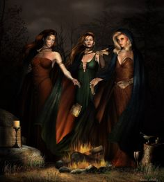 the three fates art   love october it s one of my favorite months of the year why well the ...
