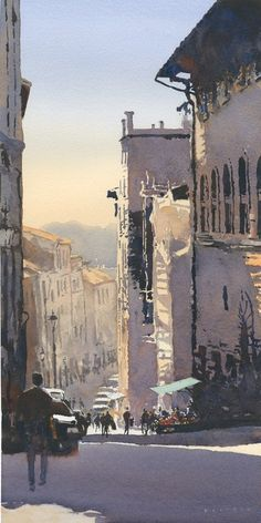 Michael Reardon Watercolors #watercolor jd