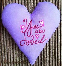 Hier mein 30 Herz für Euch: Fühlt Euch einfach geliebt