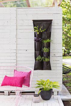 Small Space Vertical Herb Garden