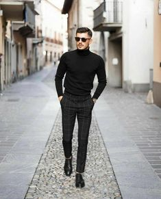 7 Stylish Outfit For 2020 .Feat (Alex Costa, One Dapper Street) Black Outfit Men, Moda Blog, Designer Suits For Men, Look Man, Stylish Mens Outfits, Classy Outfits, Mode Streetwear, Men With Street Style, Suit Fashion