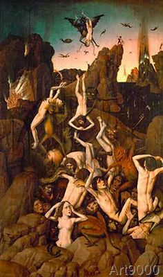 Dieric Bouts - Descent into Hell / Dieric Bouts