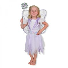 Girls will love to dress up as a fairy...