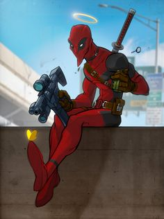 Check out this Deadpool fan art piece by freelance illustrator Vanja Todoric! http://conceptartworld.com/?p=29728