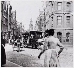 Reguliersbreestraat gezien van Rembrandtplein naar Muntplein | Amsterdam