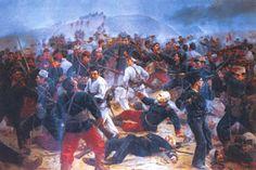 Día de la Batalla de Arica : La batalla de Arica que enfrentó a nuestro ejército con los invasores chilenos el 07 de Junio de 1880, es un ejemplo inolvidable de heroísmo y honor que honra a nuestro pueblo y a nuestros soldados, pero que enaltece, fundamentalmente, la figura del heroico coronel Francisco Bolognesi.