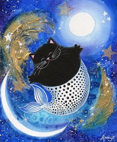 catfish in the moonlight (so nice!)
