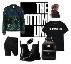"""Untitled #5"" by camila-632 ❤ liked on Polyvore featuring We All Shine By MINKPINK, Dr. Martens and STELLA McCARTNEY"