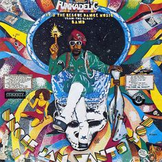Cosmic Slop: Pedro Bell's fantastic, far-out and funky Funkadelic album art.  Click to view story