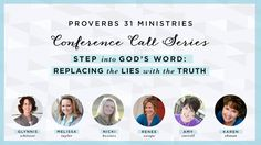When the lies in our head keep us from doing what God has called or asked us to do, there is only one place to go … His Word. And that's exactly what we are doing in our next Proverbs 31 Online Bible Study conference call series. Check out this video ... #P31OBS #TameYourList