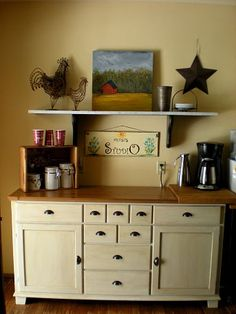 1000 images about in home coffee station perfection on for Coffee station furniture