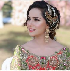 ~BRIDAL SHOOT~ Make your day special. Event booking and package details call/sms/whatsapp Photography by:… Asian Wedding Dress Pakistani, Pakistani Bridal Makeup, Pakistani Dress Design, Pakistani Dresses, Bridal Mehndi Dresses, Bridal Dress Design, Bridal Outfits, Shadi Dresses, Bridal Makeup Looks