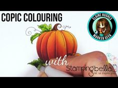 Marker Geek Monday: Copic Colour Combos for Pumpkins (with video) | stamping…