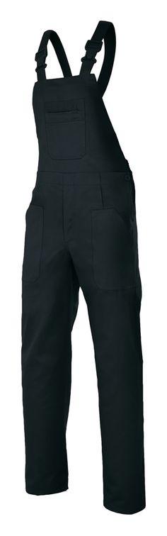 Pantalón con Peto con Pinzas y Goma Elástica Serie 290 Velilla Aracotextil