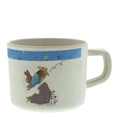 The beaker is sized specifically for children and is the perfect size for small hands. The artwork for each product is taken from the original illustrations from the Beatrix Potter stories. Makes perfect gifts for children, or even christening gifts.