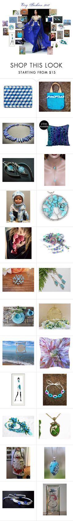 """""""Etsy Fashion 2018"""" by zebacreations ❤ liked on Polyvore featuring Lazuli, Rustico and Cadeau"""