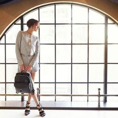 Have you seen the new @tumitravel #Harlow #Backpack from the #Sinclair range? Perfect #travel partner for any trip, just ask @claudiashkim Available now on www.caseluggage.com