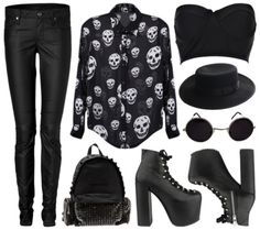 outfits gothic - Buscar con Google