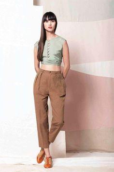 Samantha Pleet Makes Khaki (Actually) Cool Again For Spring