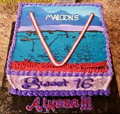 Maroon 5 Cake