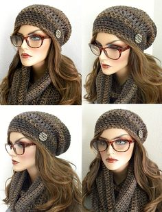 13b49b4e83c Winter Hat And Scarf Set Long Infinity Scarf by FreeSpiritHats. B Belsher ·  Hats