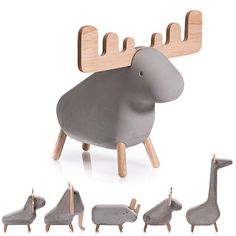 Moxon Concrete Animals - Meticulously designed...