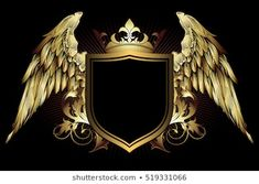 ornate frame with place for your text