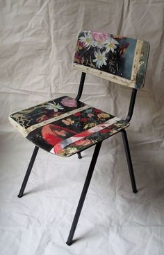 Painting Chair - Flowers by Swarm