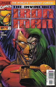 """Magical Mystery Tour"" ____ Story by Jim Lee & Jeph Loeb . Art And Cover by Whilce Portacio , Terry Shoemaker, Norm Rapmund and JD McWeeny, The Story ....As Iron Man confronts Doctor Doom, the two adv"