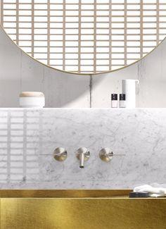 3 hole wall-mounted washbasin tap VAIA | Washbasin tap - @dornbracht
