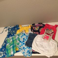 Toddler Girl clothing 2T Used all size 2T. Jumping Beans (Kohl's) Genuine Kids from Osh Kosh (target), Circo (target), Lilybird, Aloha Republic, Bunz Kidz Other